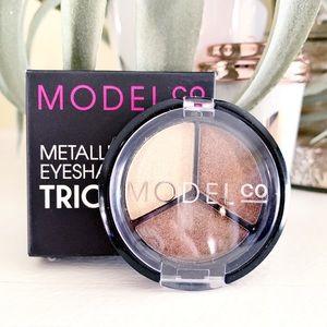 MODEL CO Metallic Eyeshadow Trio in St. Tropez